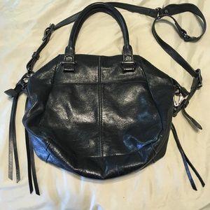 Elliot Lucca black leather bag